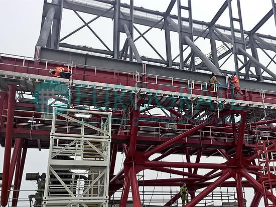 Structures autoporteuses utilisées dans l'industrie offshore