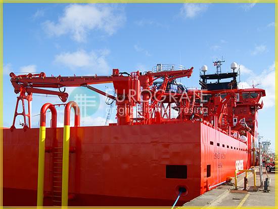 Couvre-barreaux appliqués pour la montée sur un navire