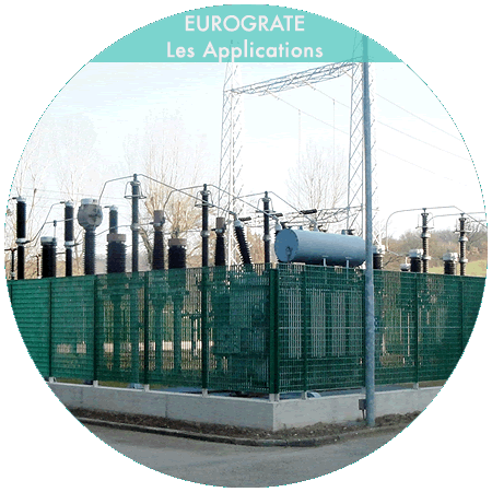 clôtures industrielles pour la sécurité des centrales électriques