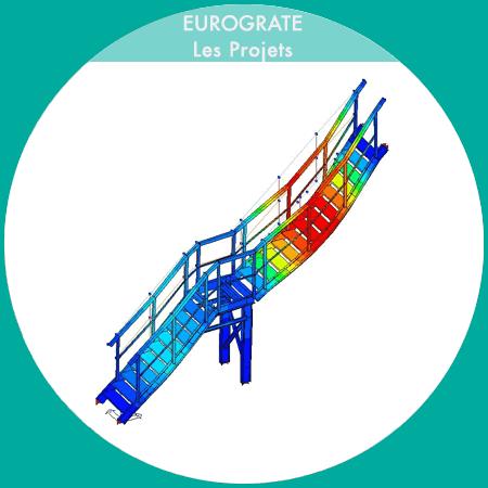 réalisation des escaliers avec marches et couvre-marches