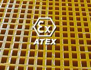 Caillebotis Atex antistatiques