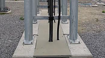 Couvercles de caniveau en fibre de verre PRV