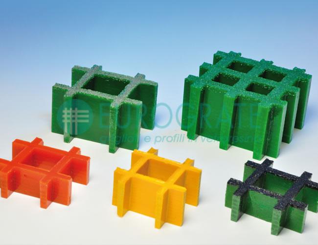 caillebotis moulés, dimensions et couleurs sur demande