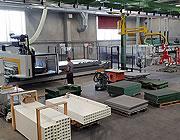Machine de fabrication de caillebotis à commande numérique : 5 axes
